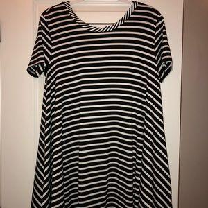 Dresses & Skirts - striped tshirt dress